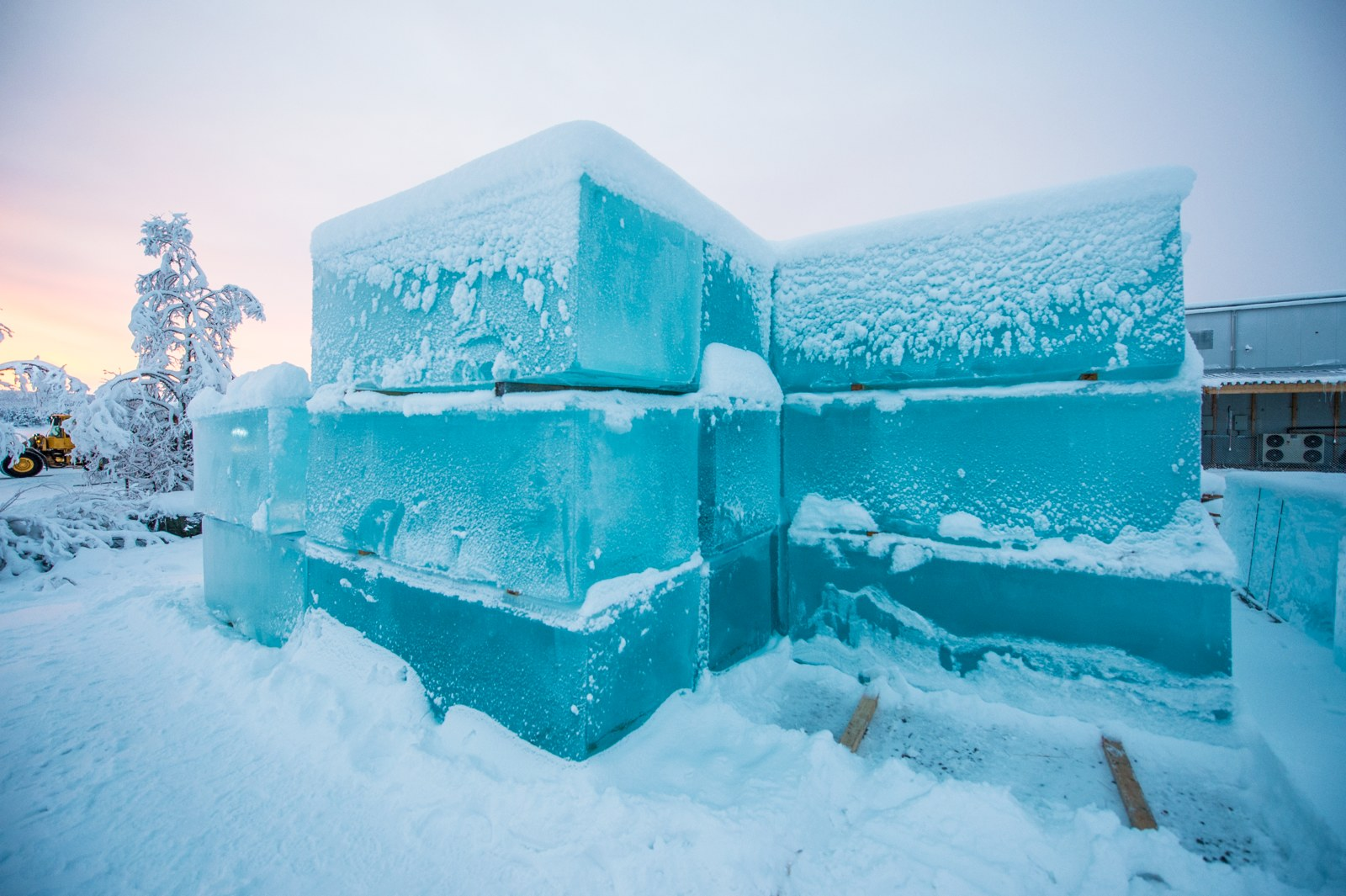 Building a hotel of ice