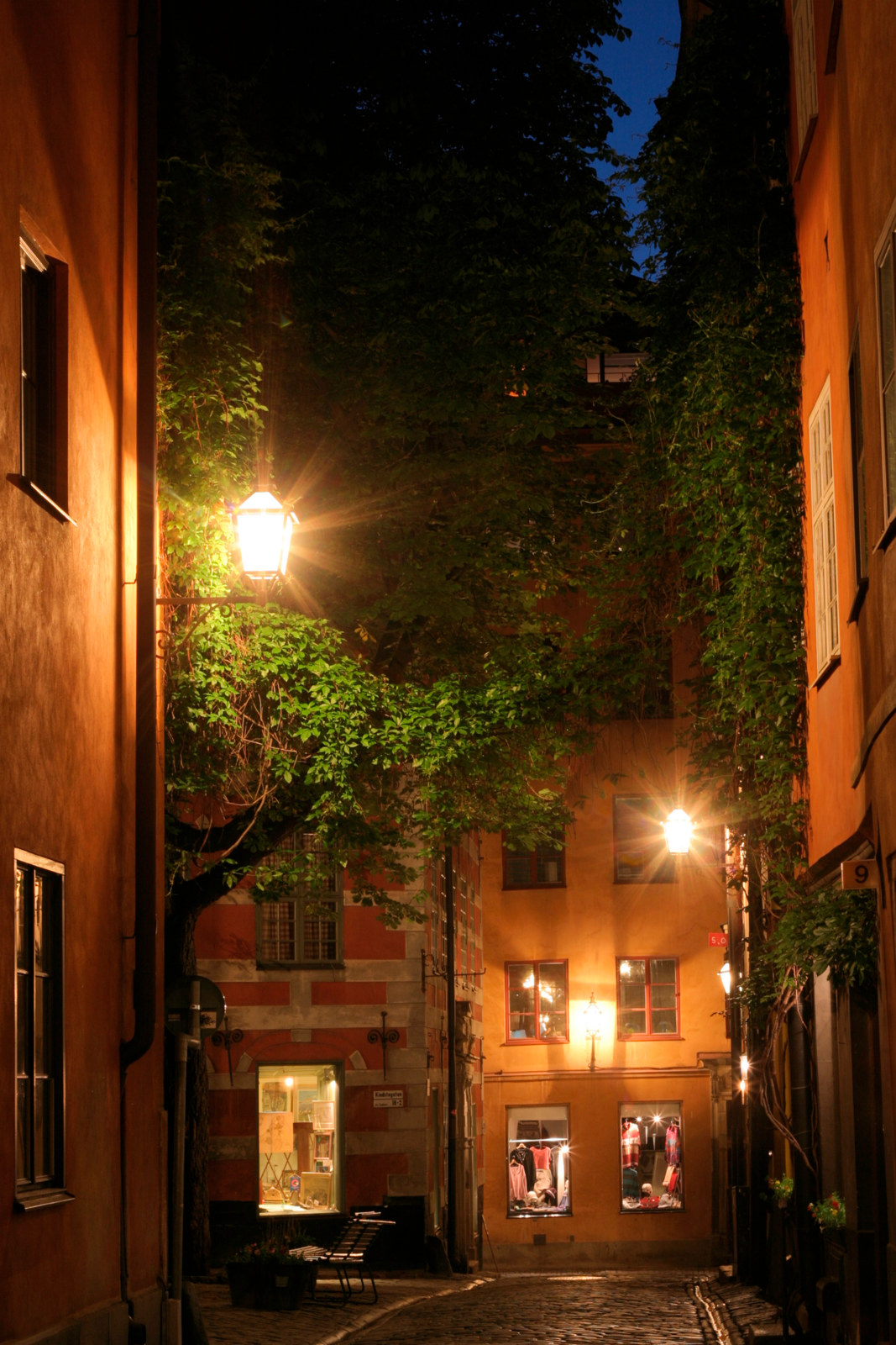 Night in Gamla stan