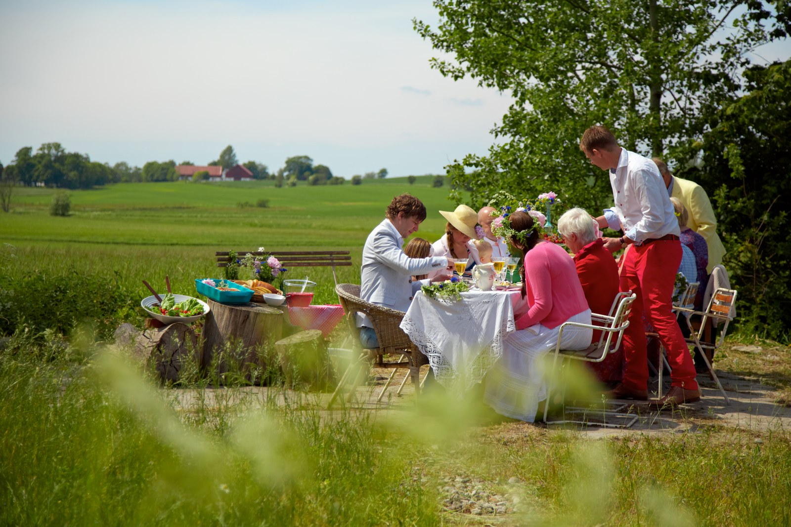 Midsummer lunch