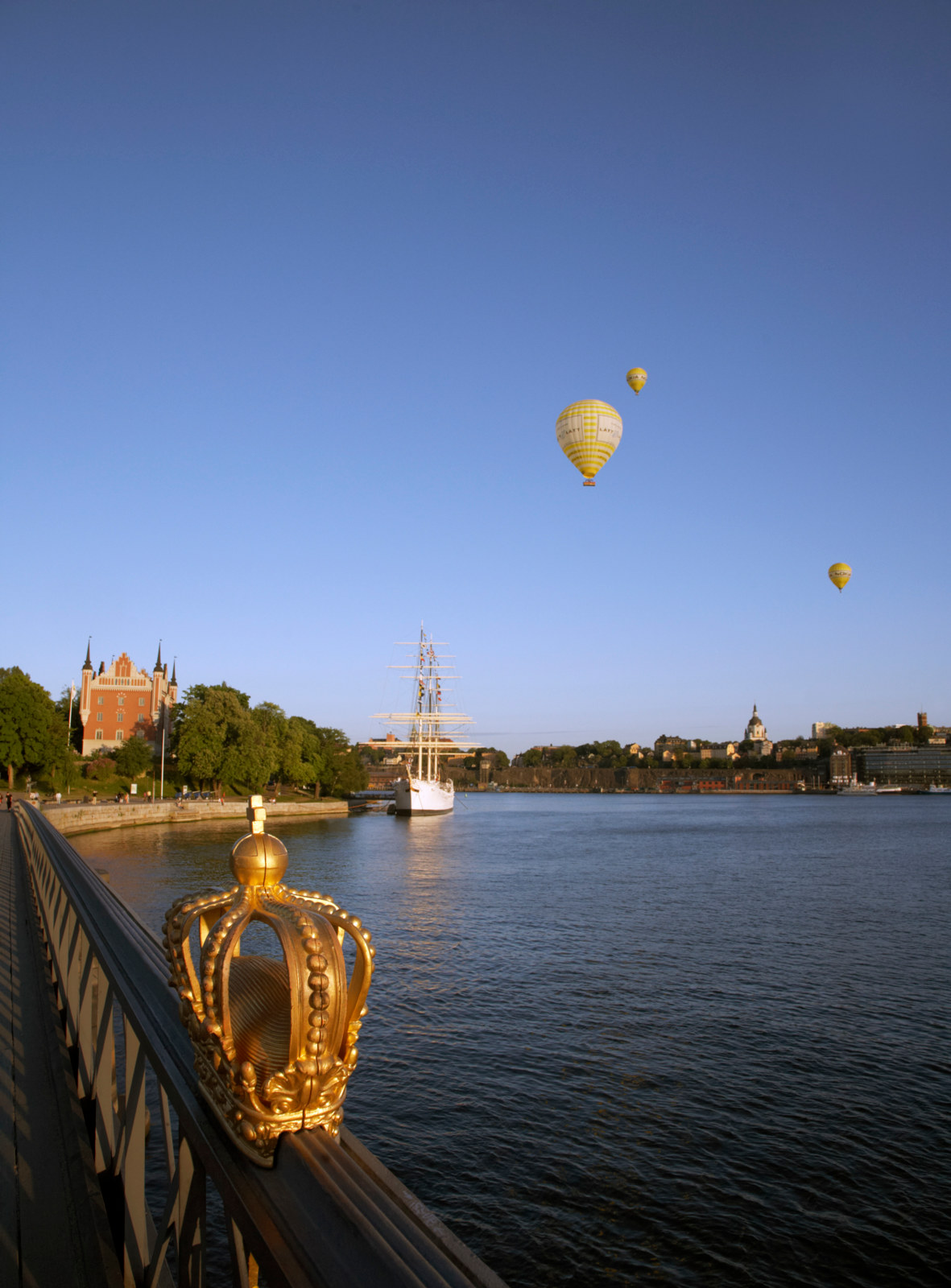 View of Skeppsholmen