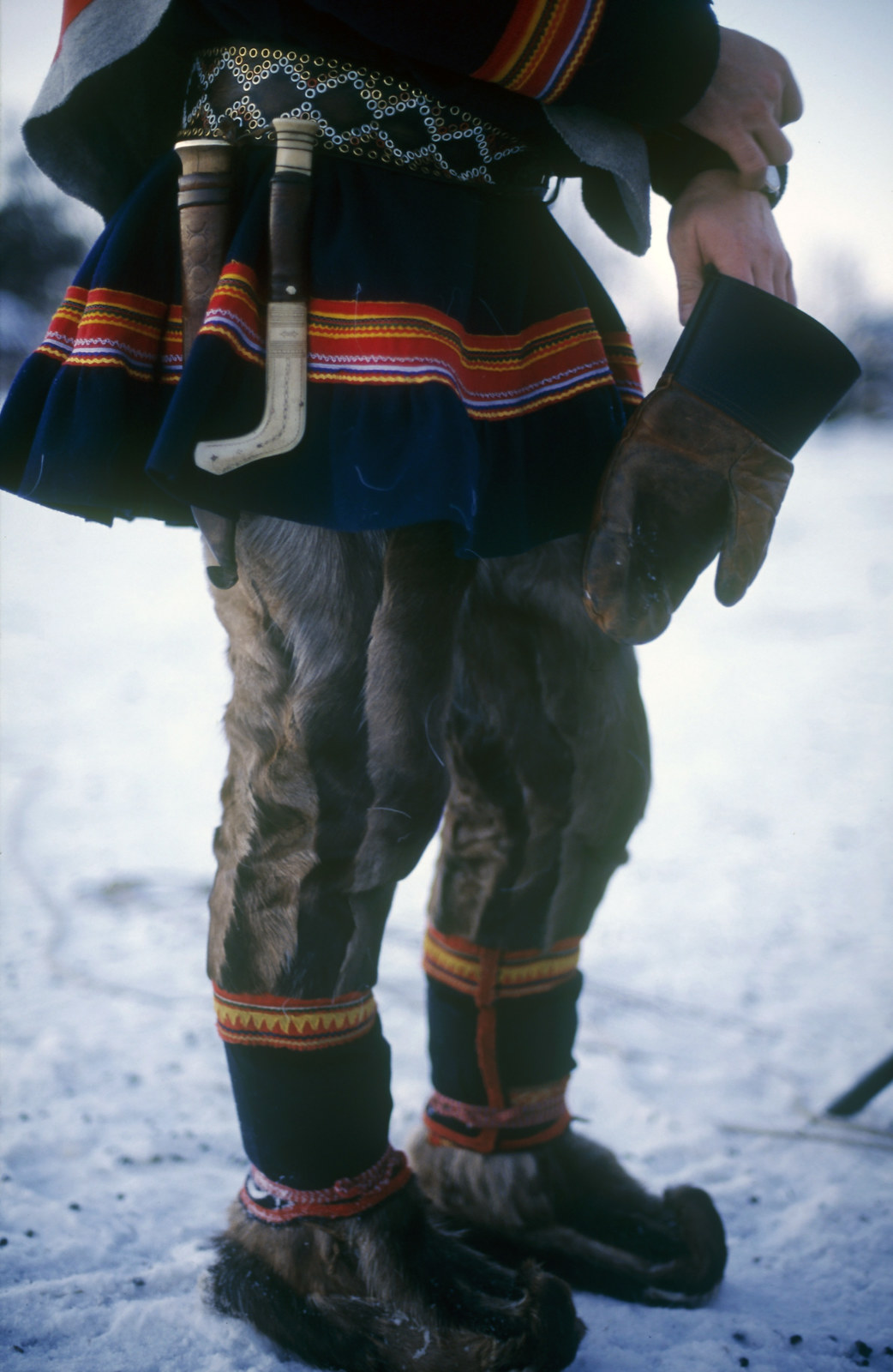 Traditional Sami clothing